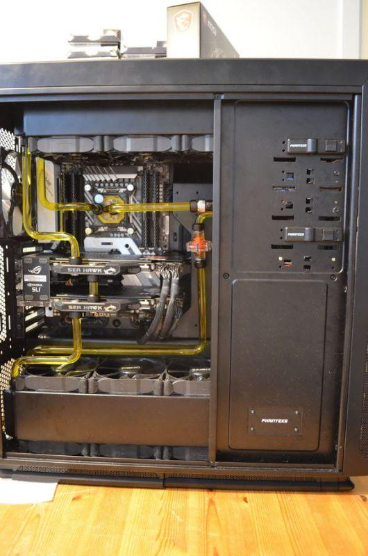 Watercooled Phanteks Enthoo Primo 7900x