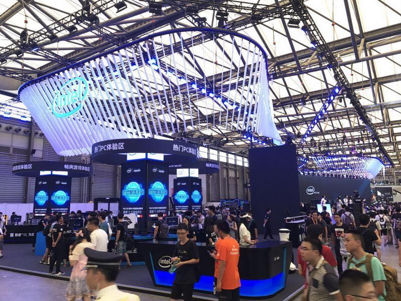 ChinaJoy 2017熱鬧開展,Intel主題館攜手國際大廠共同展出!