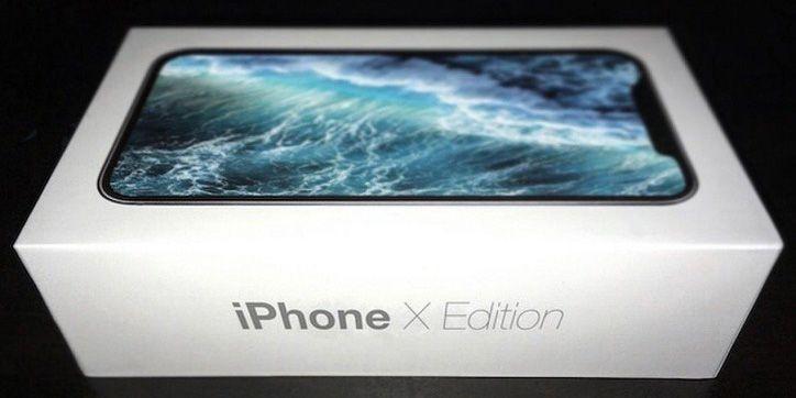 Apple iPhone 8彩盒現身:iPhone X Edition?!
