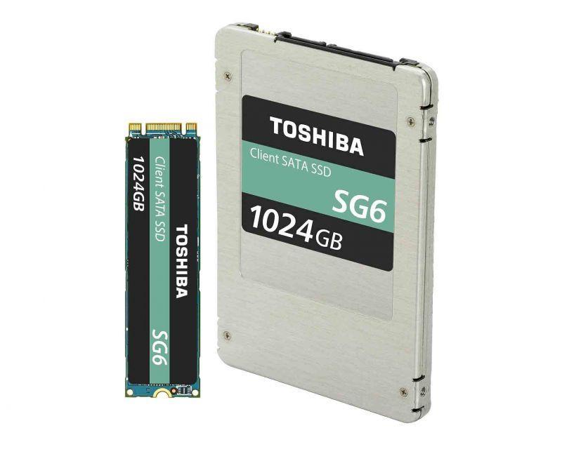 東芝正式發表 SG6系列客戶級SATA固態硬碟 結合64-LAYER 堆疊技術及3D快閃記憶體強勢登場!