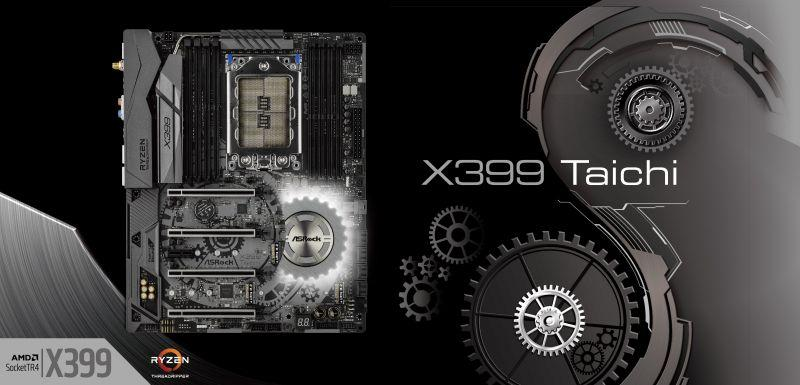 AMD Ryzen Threadripper絕佳拍檔 華擎發佈 X399 系列主機板