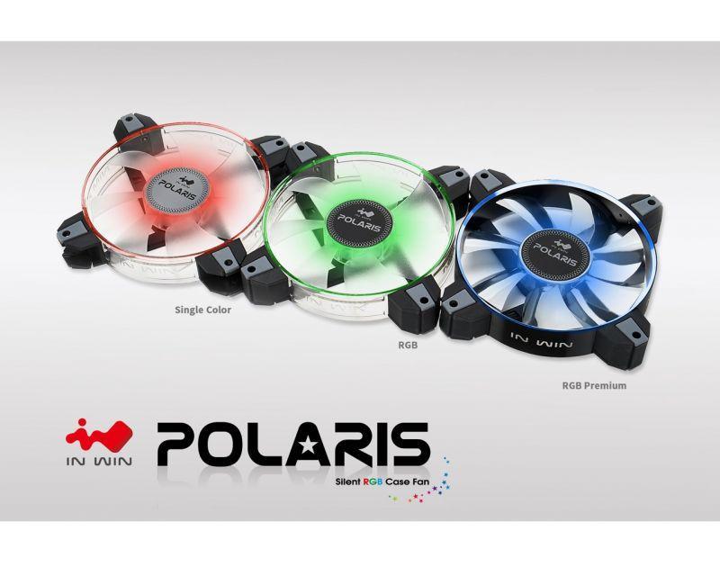 迎廣全新機殼風扇系列–北極星Polaris