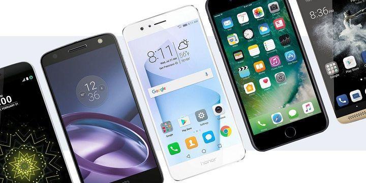 2017年7月台灣智慧型手機銷售排行榜