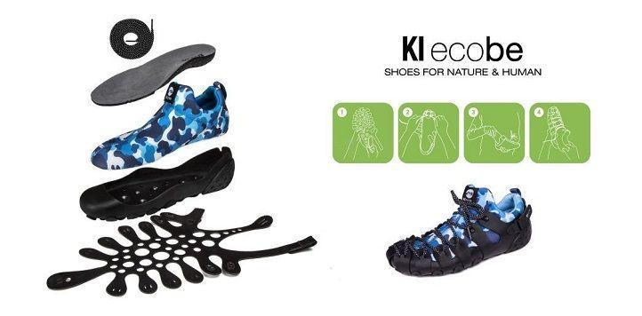 KI ecobe:自己的鞋子自己組!