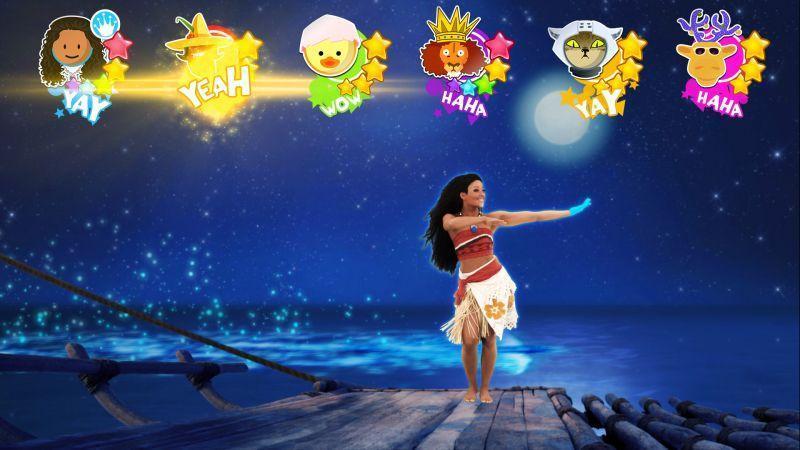 《JUST DANCE® 舞力全開 2018》揭露全新兒童模式與迪士尼電影【海洋奇緣】主題曲