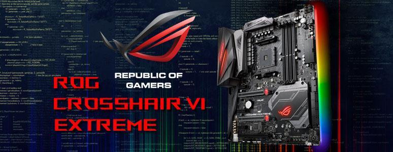 ASUS ROG CROSSHAIR VI EXTREME 主機板開箱測試 / 極致 X370 最頂 AM4 [XF] - XFastest - asus-cross-6-extreme.jpg