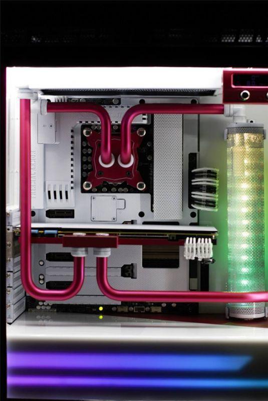 陽極電鍍機殼水冷電腦