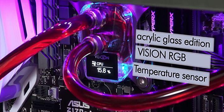 Aqua Computer 擴展 cuplex kryos NEXT 系列,推出支援 TR4、SP3 腳位的水冷頭