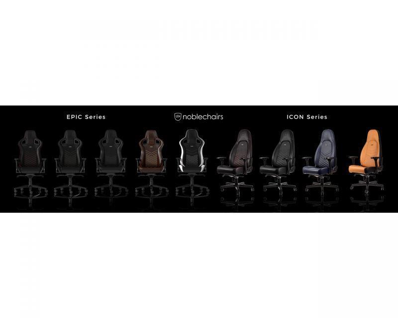 noblechairs邀請您前往體驗「EPIC電競超跑椅」及「EPIC電競超跑椅」