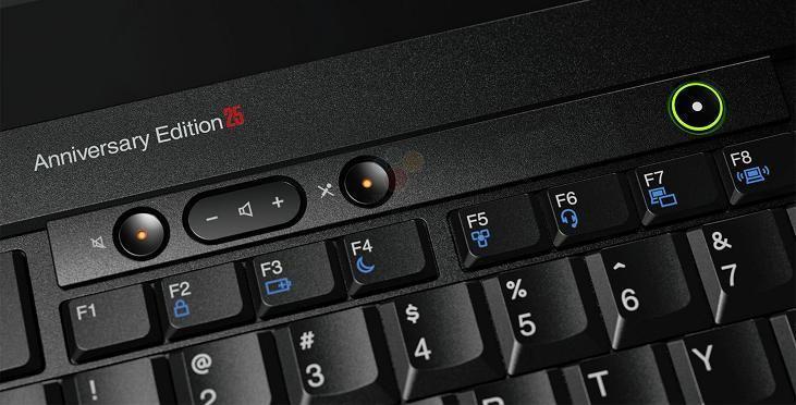 情懷又一例!ThinkPad 25週年紀念版筆電!