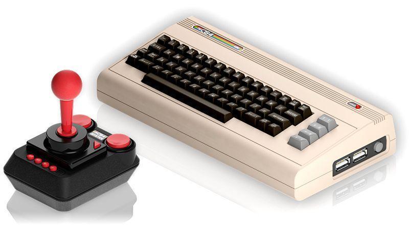 復刻遊戲機經典再現 - Commodore 64 Mini ,將於明年推出