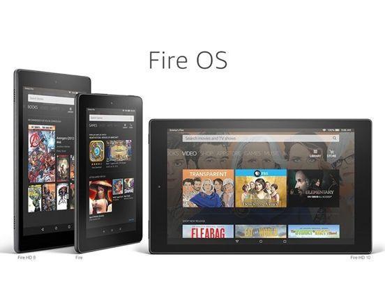 亞馬遜Fire OS 6系統發布/以安卓7.1.2為基底