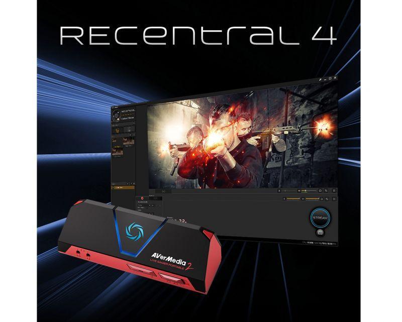 新一代超強直播軟體圓剛 RECentral 4 強勢登場