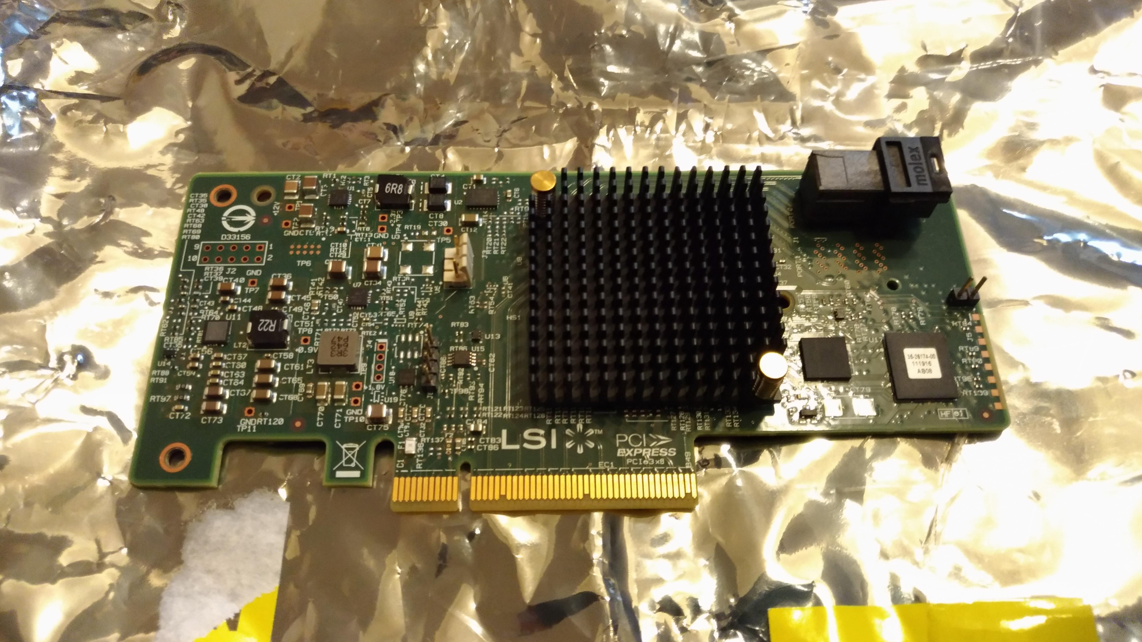 [賣][台北]LSI Logic MegaRAID SAS 9341-4i 4Port SATA/SAS 12Gb/s PCI Express 3.0 含檔板 - XFastest - LSI9341-4i.jpg