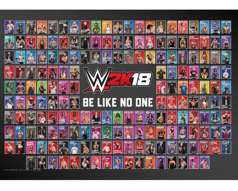 與眾不同、出類拔萃 - PlayStation®4和Xbox One版《WWE 2K18》現已推出