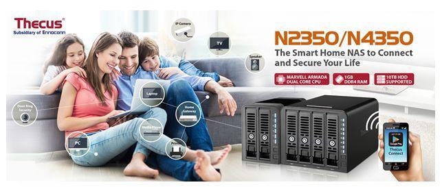 Thecus N2350 & N4350儲存伺服器已在全球上市