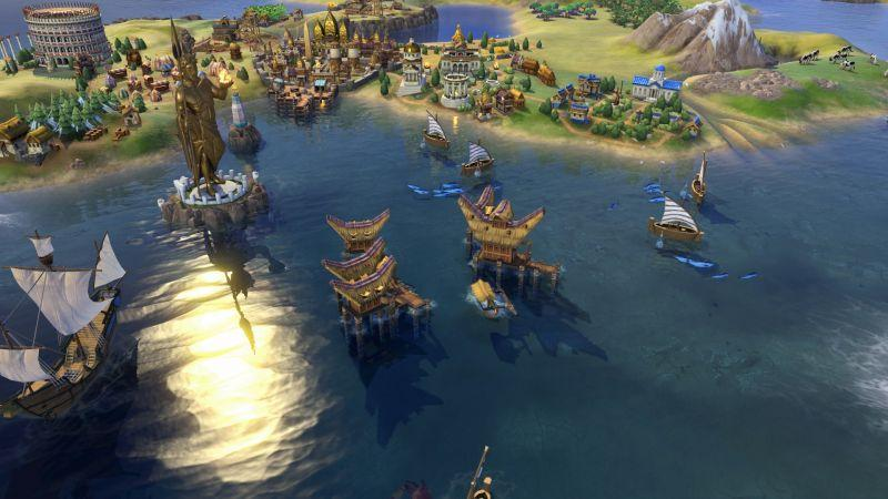 《文明帝國VI》由崔布瓦娜擔任印尼領袖