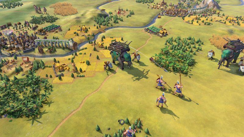 《文明帝國VI》由闍耶跋摩七世擔任高棉領袖