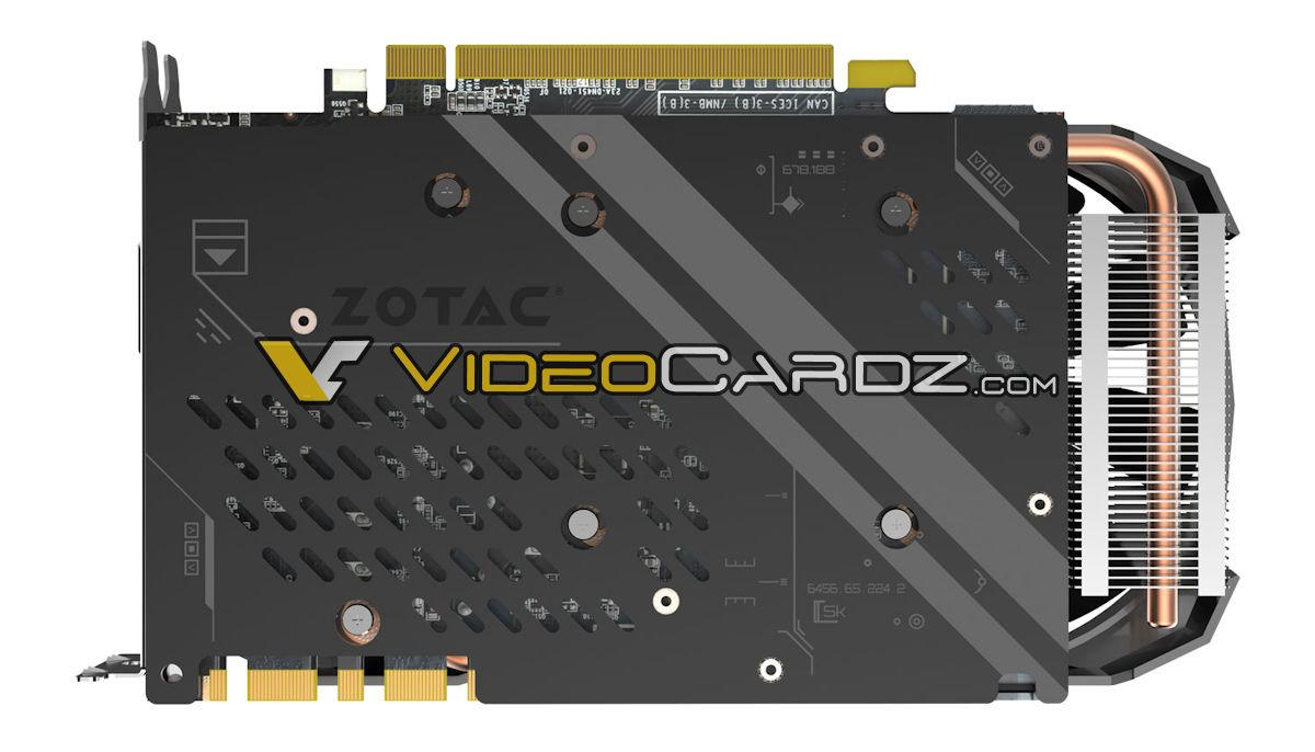 ZOTAC曝光小張的GTX 1070 Ti Mini顯示卡 - XFastest - ZOTAC-GTX1070TI-Mini-Back.jpg
