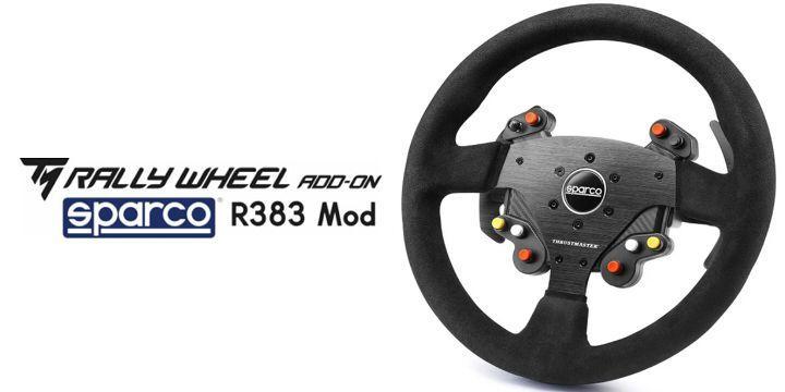 Thrustmaster 推出新的 Sparco R383 賽車方向盤