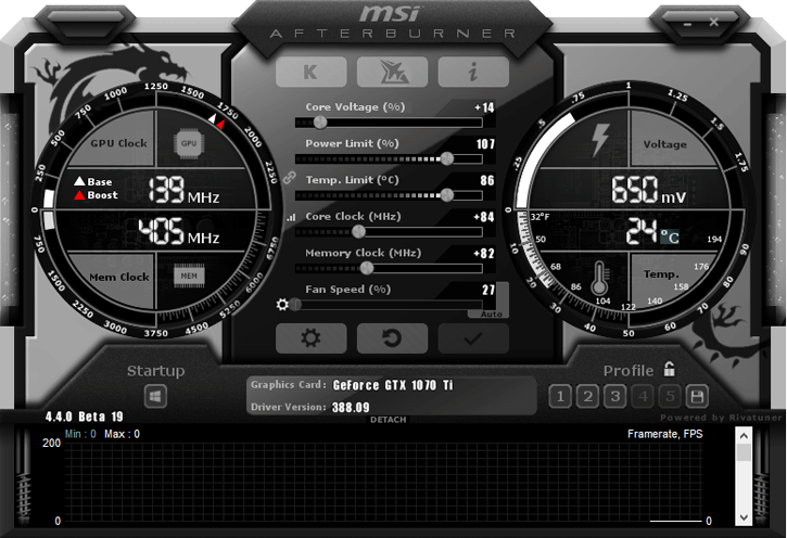 GeForce GTX 1070 Ti 其實可以超頻?