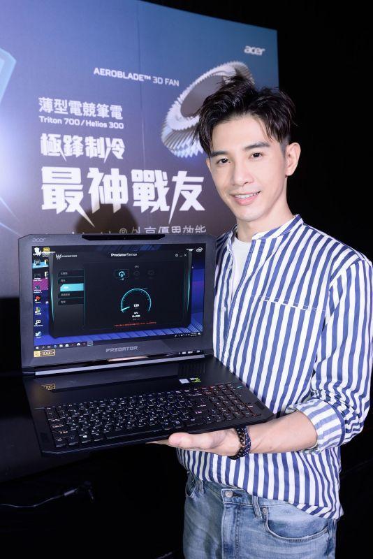 Acer Predator代言人、人氣男星 張立昂 &藝人 方泂鑌 獻上電競處女秀