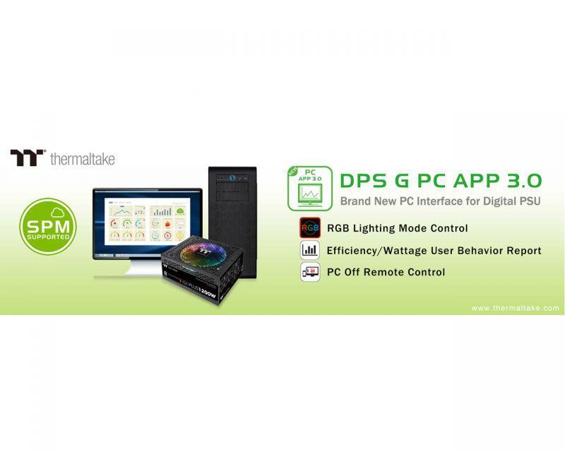 曜越全新DPS G PC APP 3.0數位監控軟體 (SPM)雲端智慧電源管理平台再進化 多元智能控制‧人...