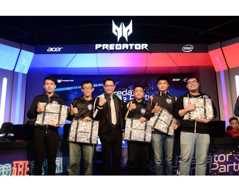 Predator Game Party電競狂歡派對 壓軸擂台賽 召喚玩家PK 挑戰實況主 爭霸當盟主!