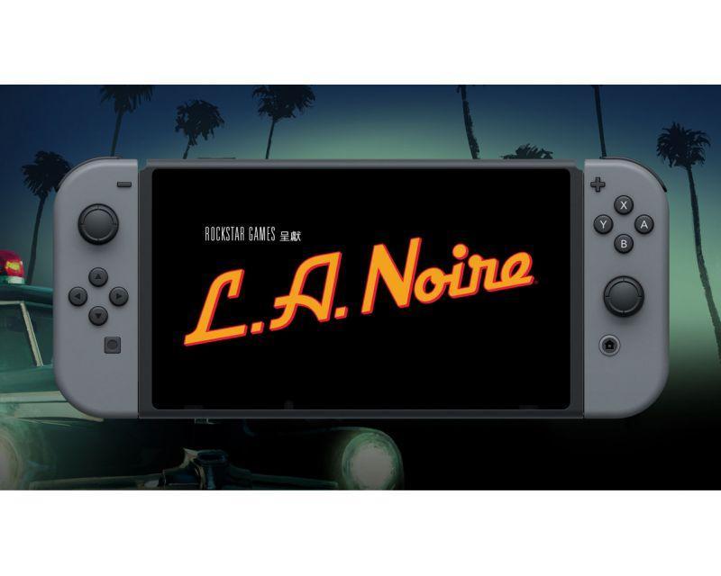 欣賞 NINTENDO SWITCH 版 L.A. NOIRE 官方預告片