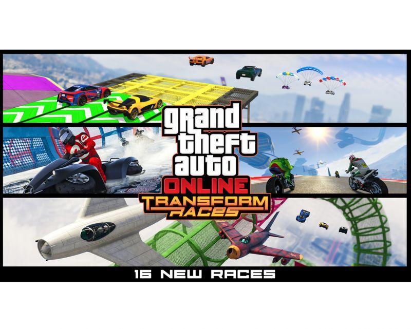 GTA 線上模式現正推出:獵殺者攻擊直升機、16 種最新變形狂飆競速以及更多