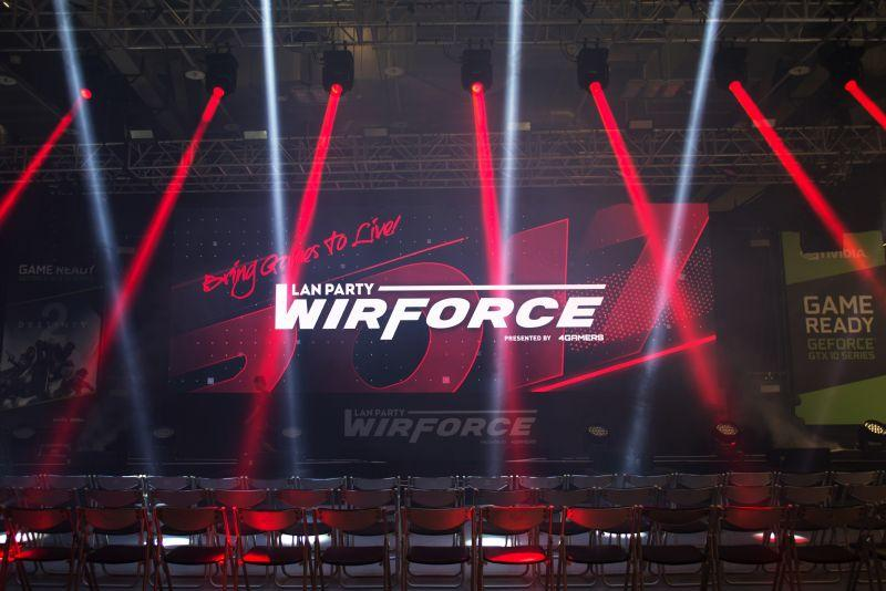 亞洲最大電競嘉年華「WirForce 2017」正式登場 打造3大互動舞台、8大對戰區域、11大體驗攤...