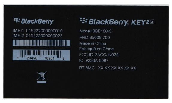 Blackberry KEY2 Lite將被正式命名為BlackBerry KEY2 LE - XFastest - 9ab017d444a98e9.jpg