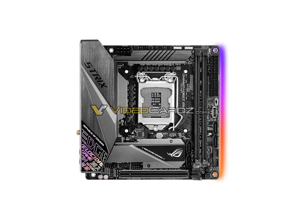 ASUS Z390 ROG Maximus XI,STRIX,PRIME和TUF系列主機板洩露,共計11張 - XFastest - ASUS-ROG-STRIX-Z390I-Gaming.jpg