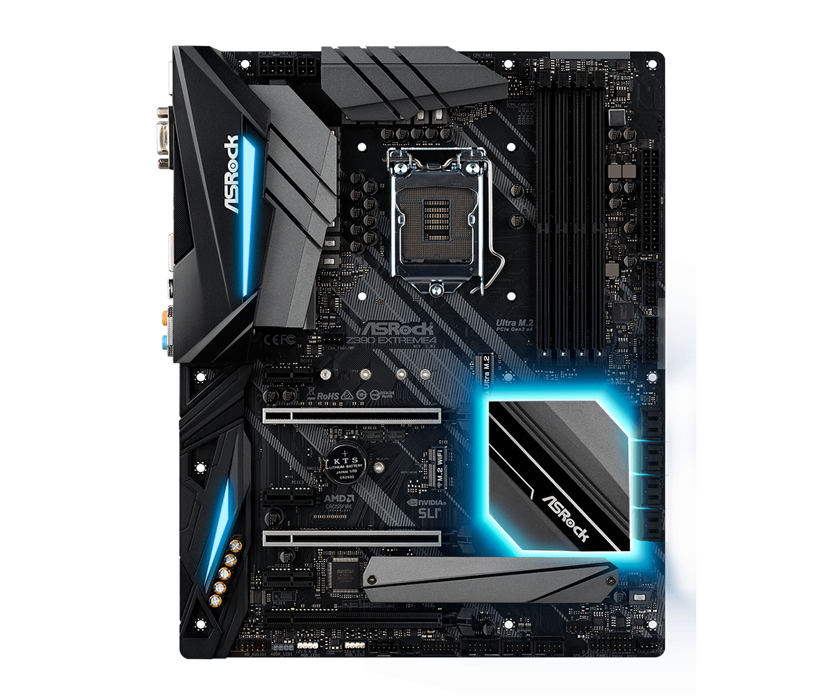 ASRock正式推出針對Intel第9代CPU的Z390主機板 - 以Z390 Taichi Ultimate和Z390 Phantom Gaming 9為旗艦 - XFastest - Z390-Extreme4L2.png