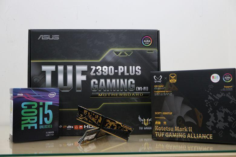 [開箱] 搭上九代的列車 TUF Z390-PLUS GAMING/ 虎徹II /i5 9600K - XFastest - 000.jpg