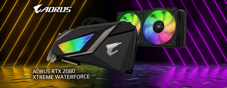 水之力 GIGABYTE AORUS RTX 2080 XTREME WATERFORCE 全面水冷散熱 - XFastest - GIGABYTE-AORUS-RTX 2080-XTREME-WATERFORCE_774x300.jpg