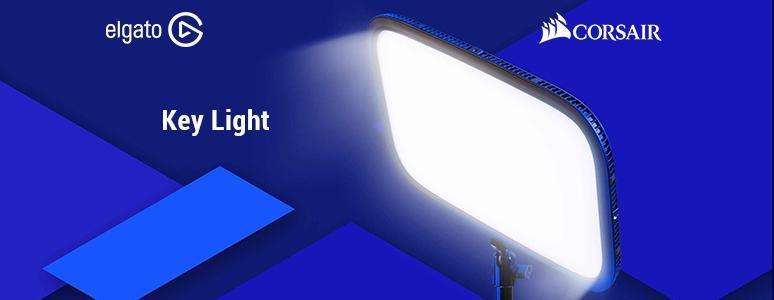 Elgato Gaming 直播 LED 補光燈「Key Light」一盞打出神韻光 - XFastest - Elgato-Gaming-Key-Light_774x300.jpg