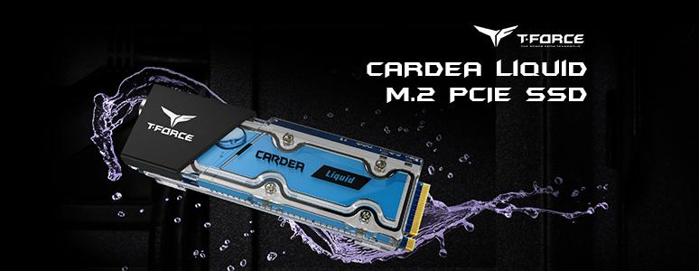 T-FORCE CARDEA Liquid M.2 PCIe SSD 256G / 搭載創新的專利水冷散熱 兼顧外觀與溫度表現 - XFastest - T-Force-Gaming-CARDEA-LIQUID-256GB_774x300.jpg
