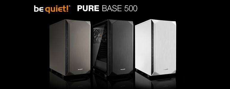 be quiet! Pure Base 500 機箱 / 圓潤可愛,主流擴充再升級 [XF] - XFastest - Be-quite-Pure-Base-500_774x300.jpg