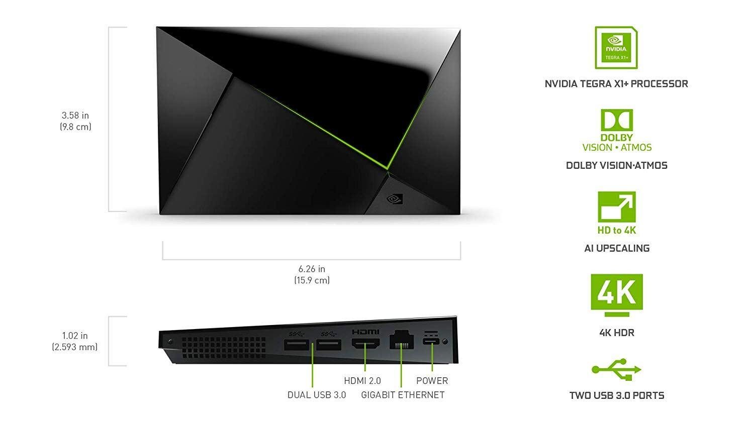 NVIDIA SHIELD TV Pro在Amazon上洩漏;在10月28日以199美元的價格出售,配備Tegra X1+處理器 - XFastest - nvidia_shield_tv_pro_2.jpg