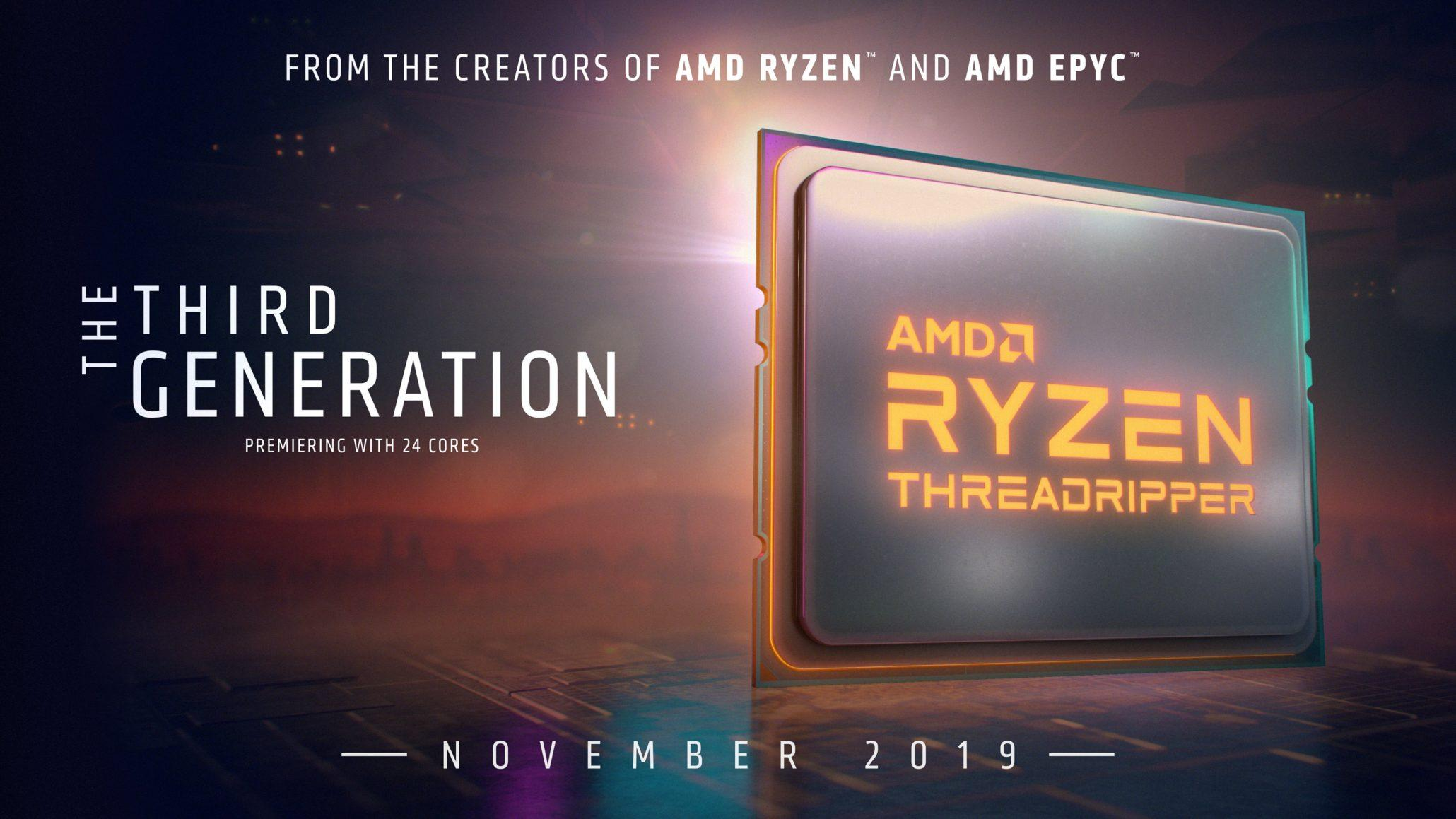 AMD Ryzen Threadripper 3970X和3960X零售價格已確認,另有最高4.5 GHz Boost,280W TDP,128MB快取 - XFastest - AMD-Ryzen-Threadripper-3000-HEDT-CPUs-2060x1159.jpg