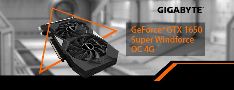 GIGABYTE GTX 1650 SUPER WINDFORCE OC 顯示卡 / 風之力抗擾流設計散熱佳 - XFastest - GIGABYTE-GeForce-GTX-1650-Super-Windforce-OC-4G_774x300.jpg