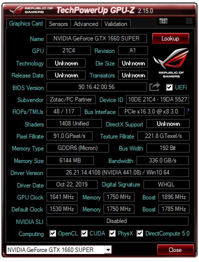 ZOTAC GAMING GTX 1660 SUPER令人驚艷的超頻性能 - 25