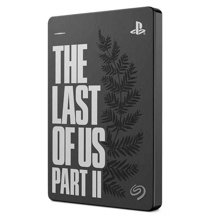 Seagate Game Drive響應《The Last of Us Part II》的推出,採用雷射蝕刻設計,並印上.jpg