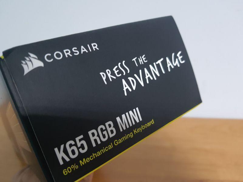 對效能絕不妥協的K65 RGB MINI,簡單輕開箱8351