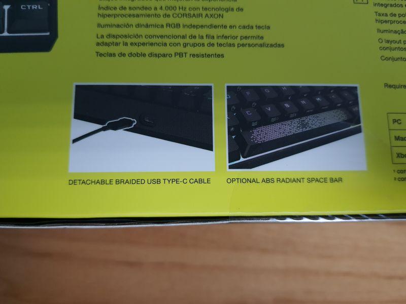 對效能絕不妥協的K65 RGB MINI,簡單輕開箱3841