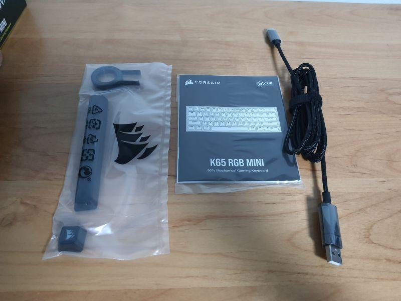 對效能絕不妥協的K65 RGB MINI,簡單輕開箱8224