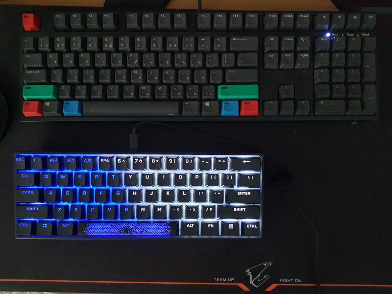 對效能絕不妥協的K65 RGB MINI,簡單輕開箱6113