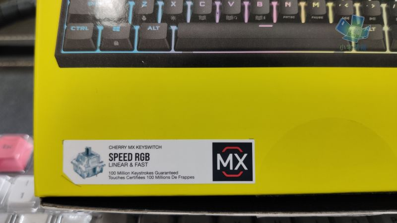 CORSAIR K65 RGB Mini 60% 機械式鍵盤開箱,為電競而生,追求極...5087