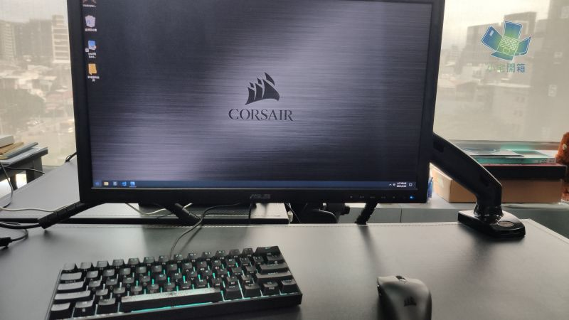 CORSAIR K65 RGB Mini 60% 機械式鍵盤開箱,為電競而生,追求極...1453